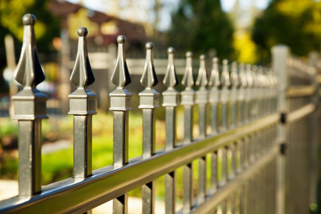 this picture shows sacramento fence pros project for west sacramento fence installation in wrought iron