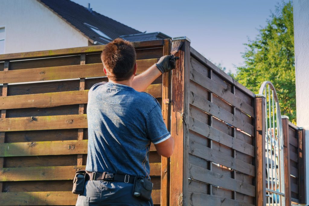 this picture shows sacramento fence pros project in west sacramento fence installation wood fence