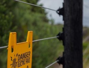 this is a picture of sacramento fence pros electric fence installation