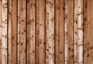 this image shows redwood fence in Sacramento, California