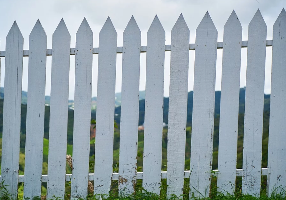 This is a picture of fencing in Arden-Arcade, CA.